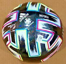 Adidas Soccer Ball Euro2020 Uniforia Trn Ball Blk/Green/cyan/pnk Sz 5 Fp9745 Nwt