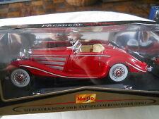 Maisto Premiere Edition 1936 Mercedes-Benz 500K Special Roadster 1:18 Diecast
