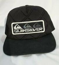 Quicksilver Snap back Trucker Mesh Hat Surf Beach Gear Urban Surfer