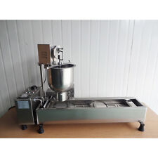 GOOD Commercial Automatic Donut  Making Machine,Wide Oil Tank,3Sets Free Mold