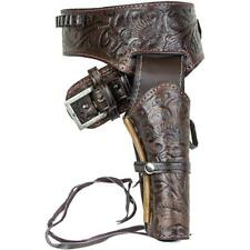 Antiqued Brown Leather Old Western Replica Holster (M-L-XL)