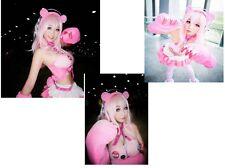 New Nitro Super Sonico X gloomy bear  Sexy cute Cosplay Costume customized set