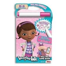 Children's Mess Free Doc Mcstuffins Imagine Ink Mess Free Game Book Activity