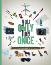 GENUINE You Only Live Once by Lonely Planet Hardback Superfast Shipping!!