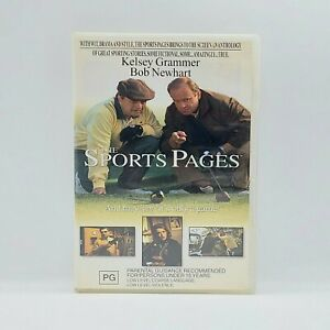 THE SPORTS PAGES (2001) Genuine Region 4 DVD RARE Kelsey Grammer Bob Newhart
