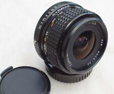 Tokina SL28 28mm f2.8 MF prime lens, pentax PKA auto aperture mount