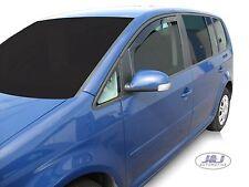 VW TOURAN  5 door 2003-2015 Front wind deflectors 2pc set TINTED HEKO