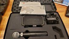 shure wireless microphone mic system  PGX