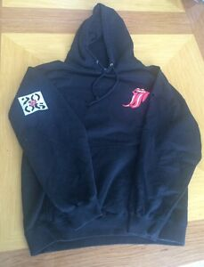 Super Rare Rolling Stones Hoodie Crew Only Thank You