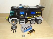 Playmobil 9360 SEK Truck Polizei Police mit Licht und Sound