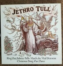 """JETHRO TULL, RING OUT, SOLSTICE BELLS; 12"""" PROMO ONLY RECORD, 4 TRACKS"""