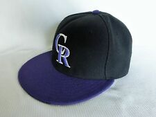 """COLORADO ROCKIES New Era 59Fifty Cool Base """"Official On-Field Cap"""", Size 7"""