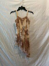 Adult Medium Tan Lyrical Dance Costume