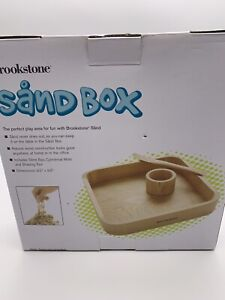 Brookstone No Mess Sand Box And Sand Molds New In Box