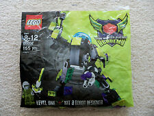 LEGO MBA Master Builder Academy Level 1 20202 Robot Designer - New (bag tear)