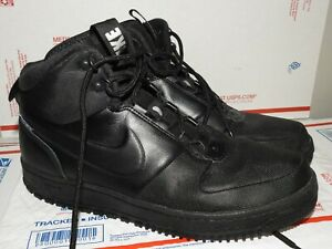 NIKE PATH WINTER Men's Athletic Sneakers Black Color  Size 10.5 Lace Up Great