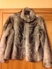 Papaya Hip Length Faux Fur Coats & Jackets for Women