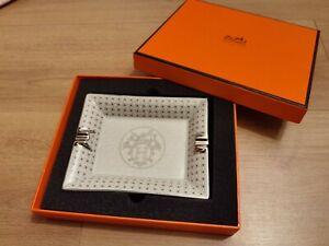 Hermes Aschenbecher Silber 17,5x13 cm