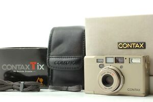 [Exc+5 in Box] Contax Tix Carl Zeiss 28mm f2.8 Point&Shoot APS Film Camera JAPAN