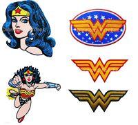 Wonder Woman logo head Superhero Hero Cartoon Kids Embroidered Iron on Patch