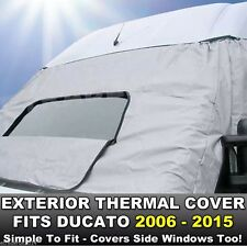FIAT DUCATO 06-15 Motorhome Exterior External Window Thermal Blinds Screen Cover