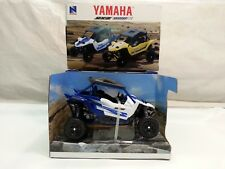 NEW RAY OFF-ROAD VEHICLES YAMAHA YXZ 1000R ATV SCALA 1:18,COLORE BLU/BIANCO