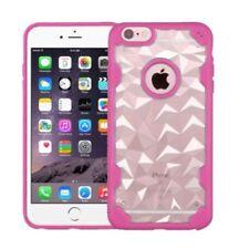 Fundas y carcasas Para iPhone 6s de plástico de color principal rosa para teléfonos móviles y PDAs