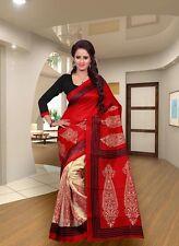 New Bollywood Indian Ethnic Pakistani Designer Sari Wedding Partywear Saree