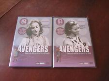 THE AVENGERS Chapeau Melon et Bottes de Cuir - 2 Coffrets DVD n°7 et 8 neufs