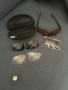 Tifosi Roubaix Optics Interchangeable Lens Sunglasses With 3 Pairs Of Lenses