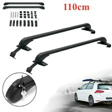 "Aluminum 43.3""Universal Car Top Luggage Roof Rack Cross Bar Carrier Window Frame"