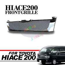 For Toyota Hiace E200 Commuter 2005-2009 Chrome Luxury Front Hood Grille Grill h