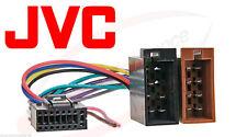 JVC Car Radio Adapter Cable Radio Adapter ISO 16 Pin kd-lx3 kd-mx2800r kd-r601