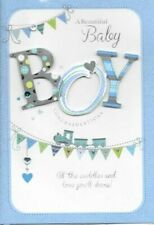 New Baby Blue Hand-Made Cards