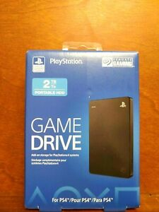 Seagate Playstation Game Drive 2TB External-5400 RPM-2.5 inch PS4 PS5