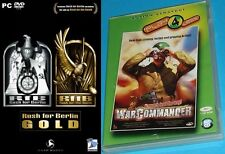 Rush For Berlin Gold Edition & war commander rangers lead the way new&sealed