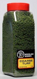 Woodland Scenics' Turf (medium Coarse Green Grass) T1364 Model Trains