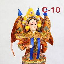 C-10 China Peking Oper chinesisch Puppe Figur Seide 31 cm Neu Geschenkidee OVP