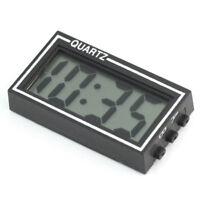 Selbstklebende Mini Digital Uhr Alarm LCD für PKW Auto Motorrad Boot und Caravan