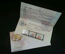 Malaysia 50th Golden Anniversary EPF 2001 Employees Provident Fund (presentation