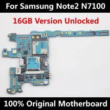 Original Samsung Galaxy Note 2 N7100 Motherboard Mainboard Logic Board Unlocked