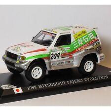 DELPRADO 1/43 RC007 Mitsubishi Pajero Evolution París-Dakar 1998 2nd Kenjiro S
