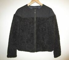PRANA Casual JACKET Size SMALL Black Fleece Quilted GOOD LUX JACKET $139 NWT