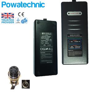 26V 29.4V Lithium Charger for PowaCycle, LPX, Windsor, Salisbury PAJ 5 pole pin