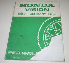 Werkstatthandbuch Honda SA 50 Germany Type Schmierung Motor Bremse Stand 1993!