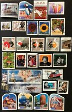 CANADA 2010-2011  28 USED STAMPS WITH 4 SETS