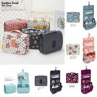Travel Cosmetic Organizer Essentials Large  Bag Toiletry Hanging Kit Waterproof