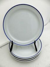 """American Airlines - Lot/Set of 4 snack/service plates - 6 1/8""""- by Michaud Japan"""