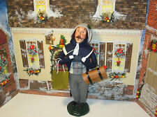 Byers Choice Retired 1999 Magnificent Traveling Man with Large Duffel Bag
