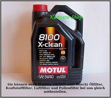 de Berlín ACEITE DE MOTOR MOTUL 8100 X-CLEAN C3 5w-40 5 Litros 5w40